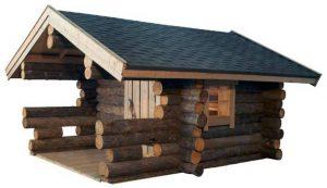 Das ist eine Kelo Sauna. Die es meist in Sonderanfertigungen zu kaufen gibt.