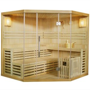 Finnische Sauna für Zuhause. Direkt die Sauna hier kaufen.