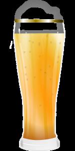 Weizenbier ist für einen Bieraufguss am besten geeignet.