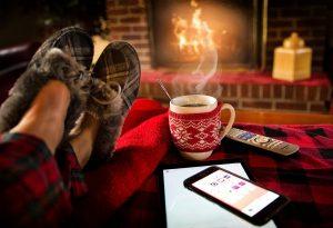 Lasst euch in der Weihnachtszeit mit einem Saunaabend verwöhnen.